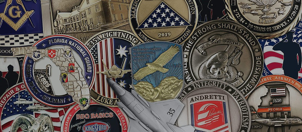 Why Choose Still Serving Promos for Your Challenge Coin